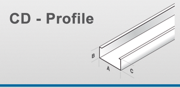 jaha profile hersteller von profilen f r den innenausbau und trockenbau ud profile cw. Black Bedroom Furniture Sets. Home Design Ideas